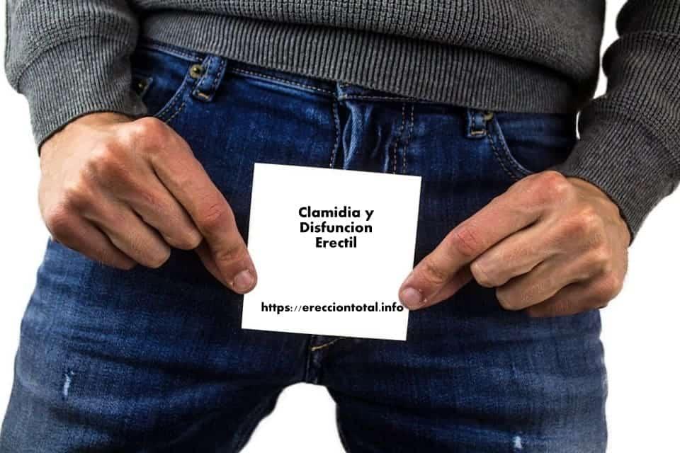 clamidia y disfuncion masculina