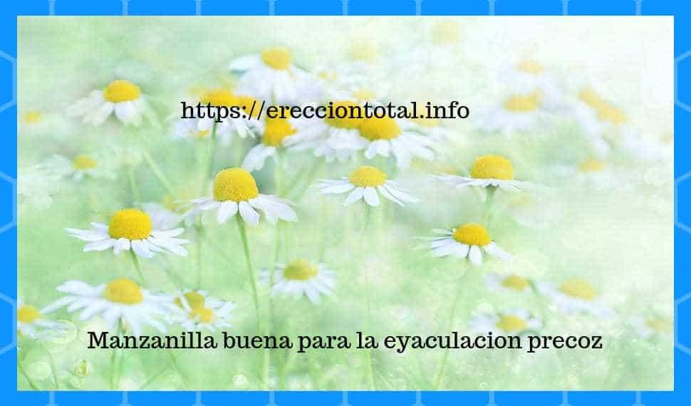 remedios cazseros para retardar la eyaculacion precoz