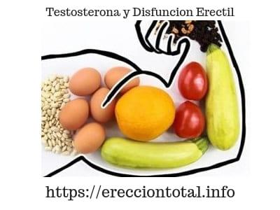 como influye la testosterona en la disfuncion erectil